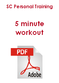 SC Personal Training 5 minute workout